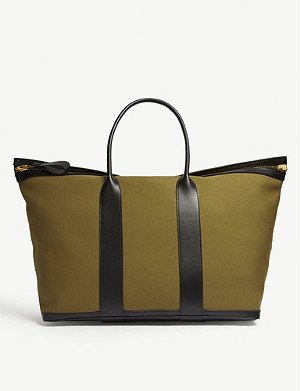 TOM FORD Canvas Buckley weekend bag