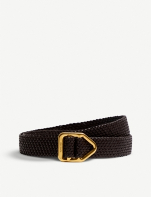 TOM FORD Braided leather belt