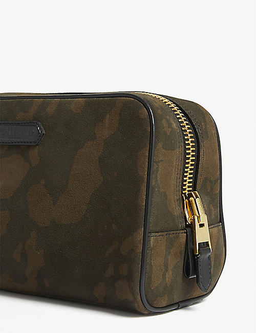 TOM FORD Camouflage nylon wash bag