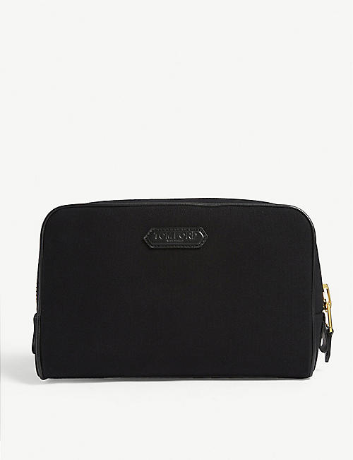 TOM FORD Canvas wash bag