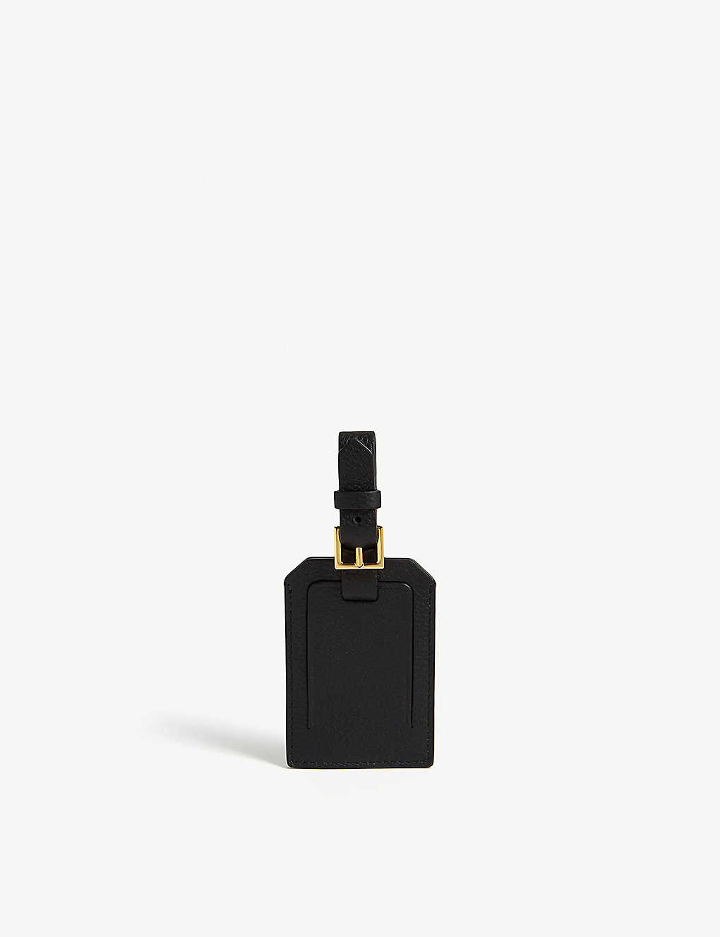 Tom Ford Travel Leather luggage tag