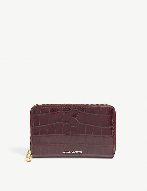 ALEXANDER MCQUEEN Leather purse
