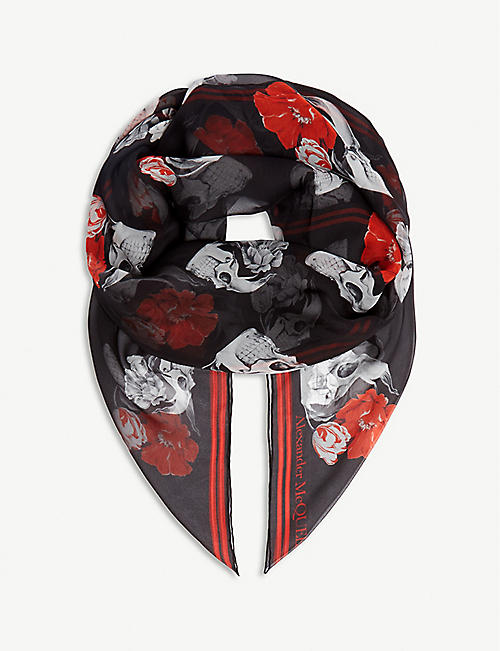 2561b0ac2e63a ALEXANDER MCQUEEN - Scarves - Accessories - Womens - Selfridges ...