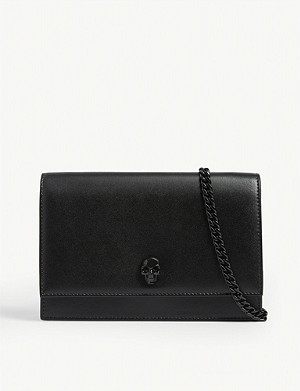 ALEXANDER MCQUEEN Small leather cross-body bag