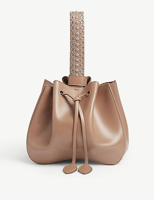 AZZEDINE ALAIA Rosemarie leather bucket bag