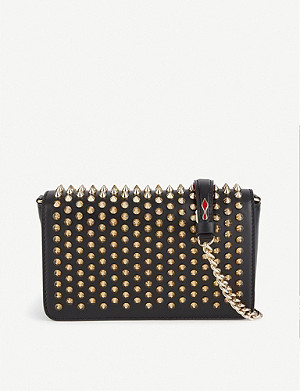 CHRISTIAN LOUBOUTIN CL ZOOMPOUCH W SPIKES