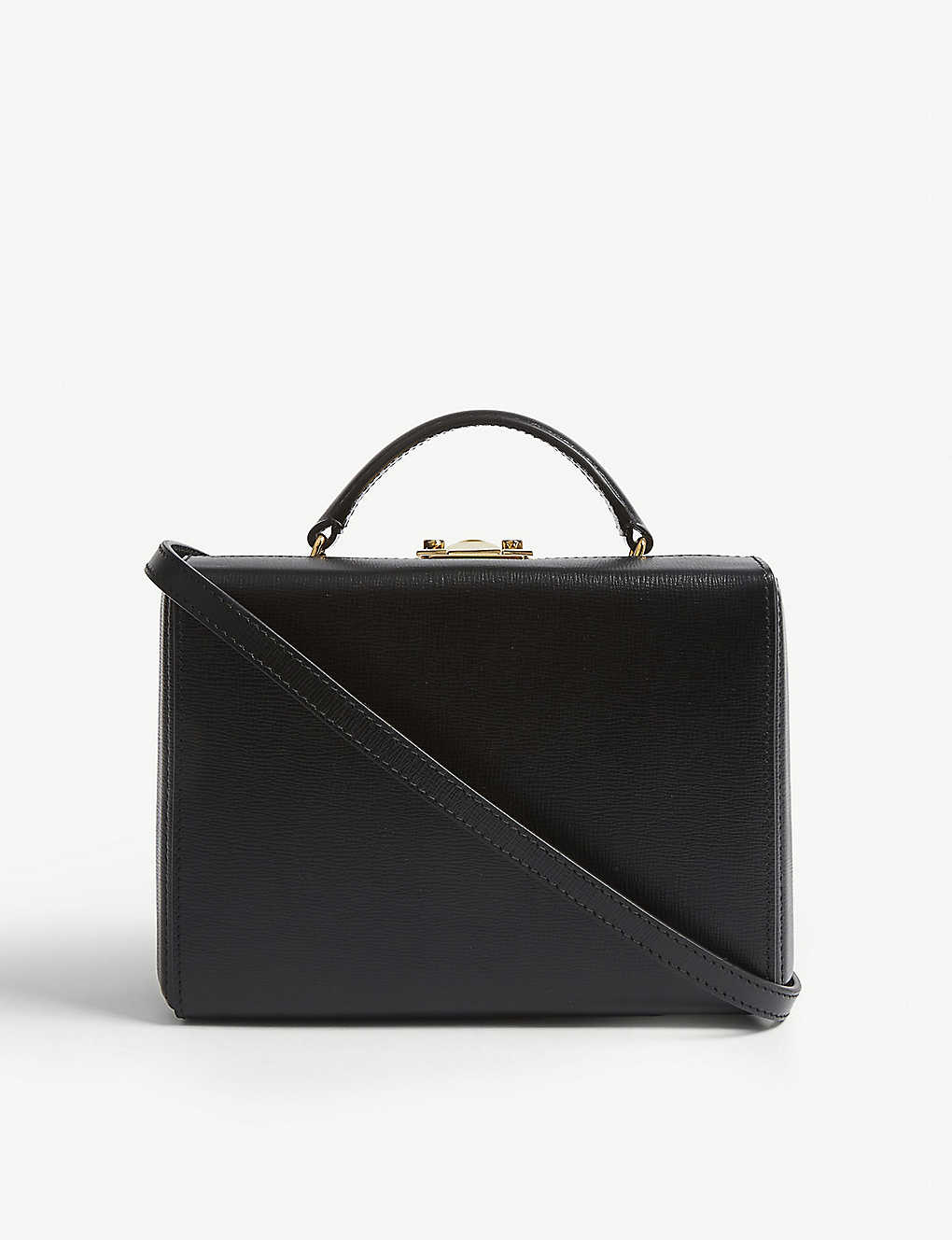 MARK CROSS: Grace small leather box clutch