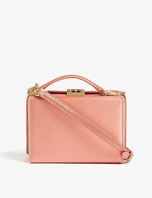 MARK CROSS Mini satin Grace Box bag