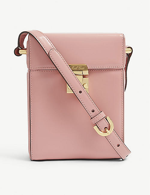 MARK CROSS Pauline leather shoulder bag bcddb4e8e1