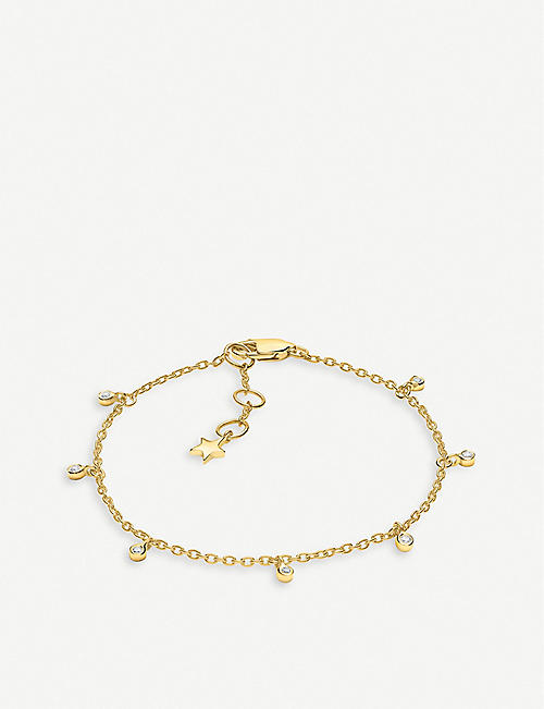 MISSOMA LTD Interstellar 18ct gold vermeil drop bracelet