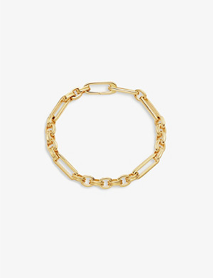 MISSOMA Axiom 18ct gold-vermeil bracelet