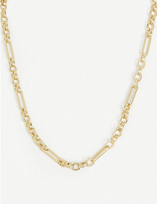 MISSOMA: Axiom 18ct yellow gold-plated vermeil sterling silver necklace