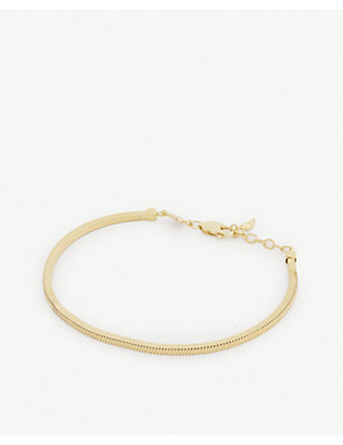 MISSOMA: Lucy Williams x Missoma 1987 snake chain bracelet