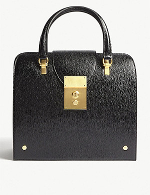 THOM BROWNE Mrs Thom Jr leather tote