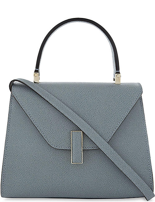VALEXTRA Iside mini pebbled leather cross-body bag
