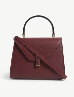 VALEXTRA Iside mini grained leather tote