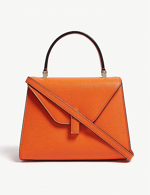 VALEXTRA Iside mini leather tote