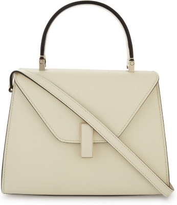 VALEXTRA Iside mini grained-leather cross-body bag