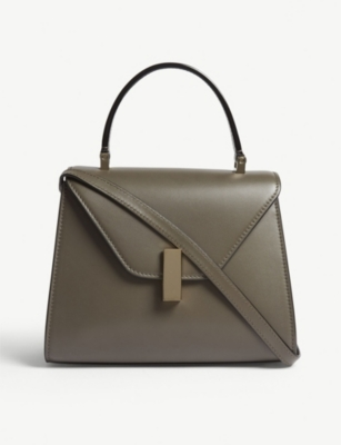 VALEXTRA Iside mini leather cross-body bag