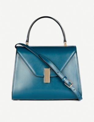 VALEXTRA Iside leather shoulder bag