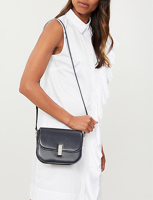 VALEXTRA Iside leather cross-body bag