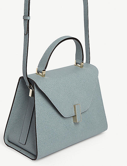 VALEXTRA Iside medium grained-leather cross-body bag