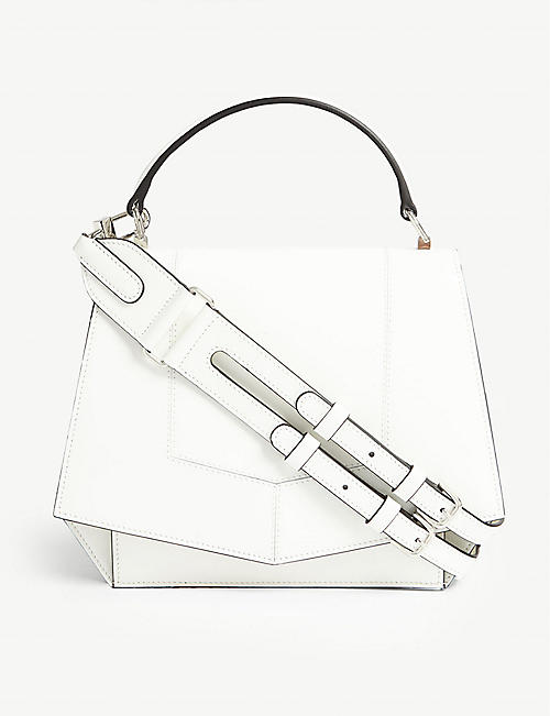 BYREDO Blueprint small leather shoulder bag