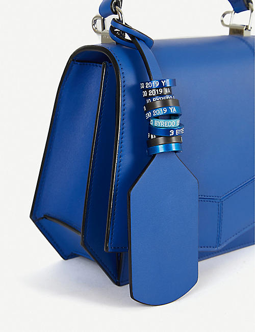 BYREDO Blueprint mini leather shoulder bag