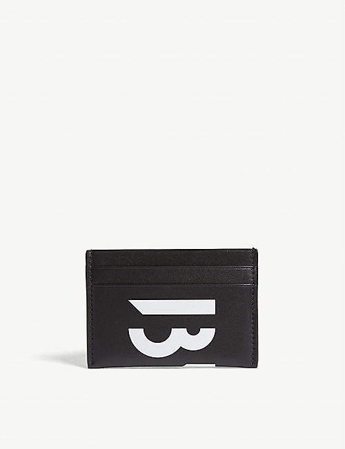 BYREDO Logo leather card holder