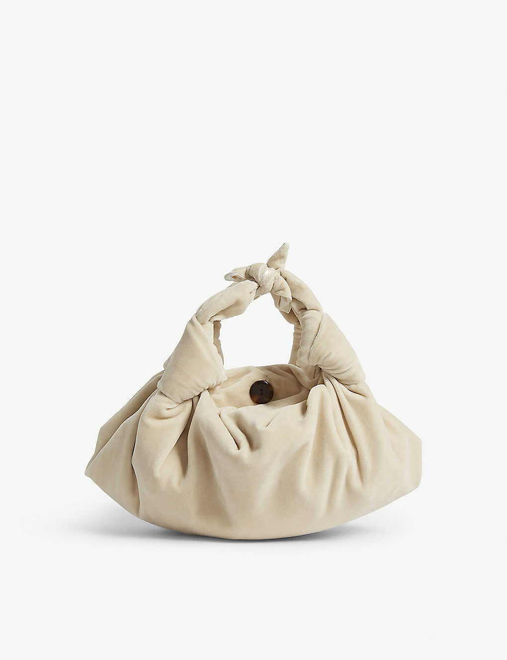 0cb76cf4ad8ee THE ROW - Ascot velvet shoulder bag | Selfridges.com