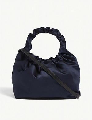 THE ROW Double Circle satin tote