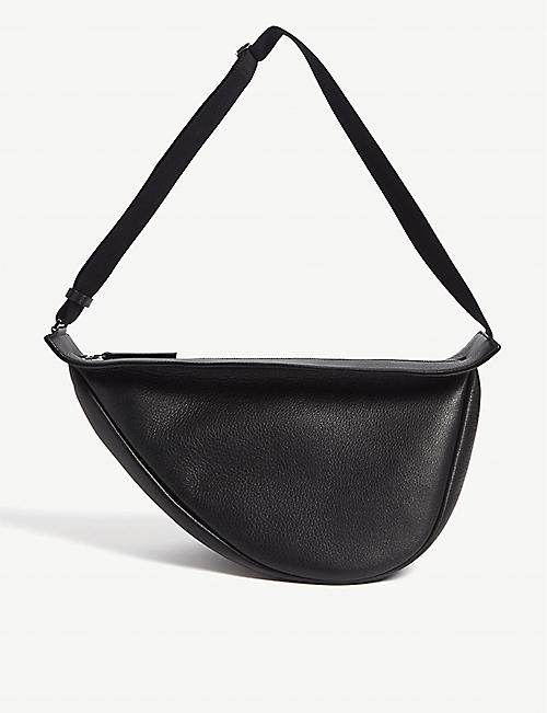 THE ROW Slouchy leather banana bag