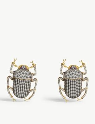 9c045925b8f74 BEGUM KHAN - Pharaoh earrings | Selfridges.com