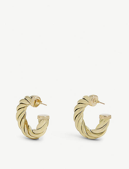 LAURA LOMBARDI Hoop earrings