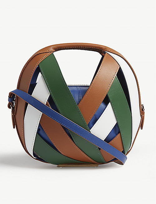 PERRIN PARIS Le Petit Panier leather handbag
