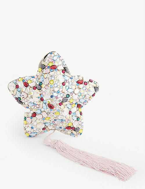JUDITH LEIBER Jewel star clutch