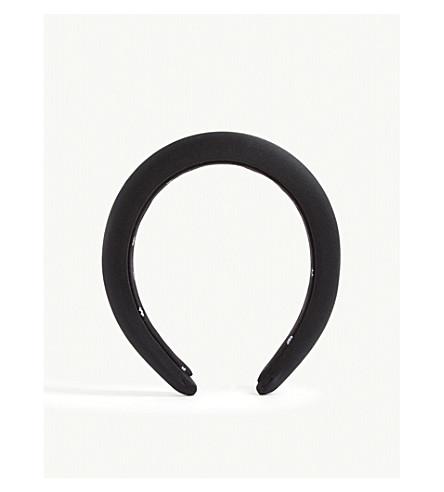 Lele Sadoughi Padded silk headband