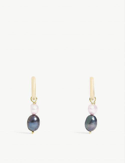 SANDRALEXANDRA Bonita pearl earrings