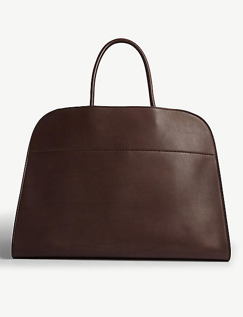 THE ROW Margaux large leather tote