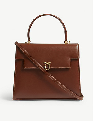LAUNER Traviata leather tote
