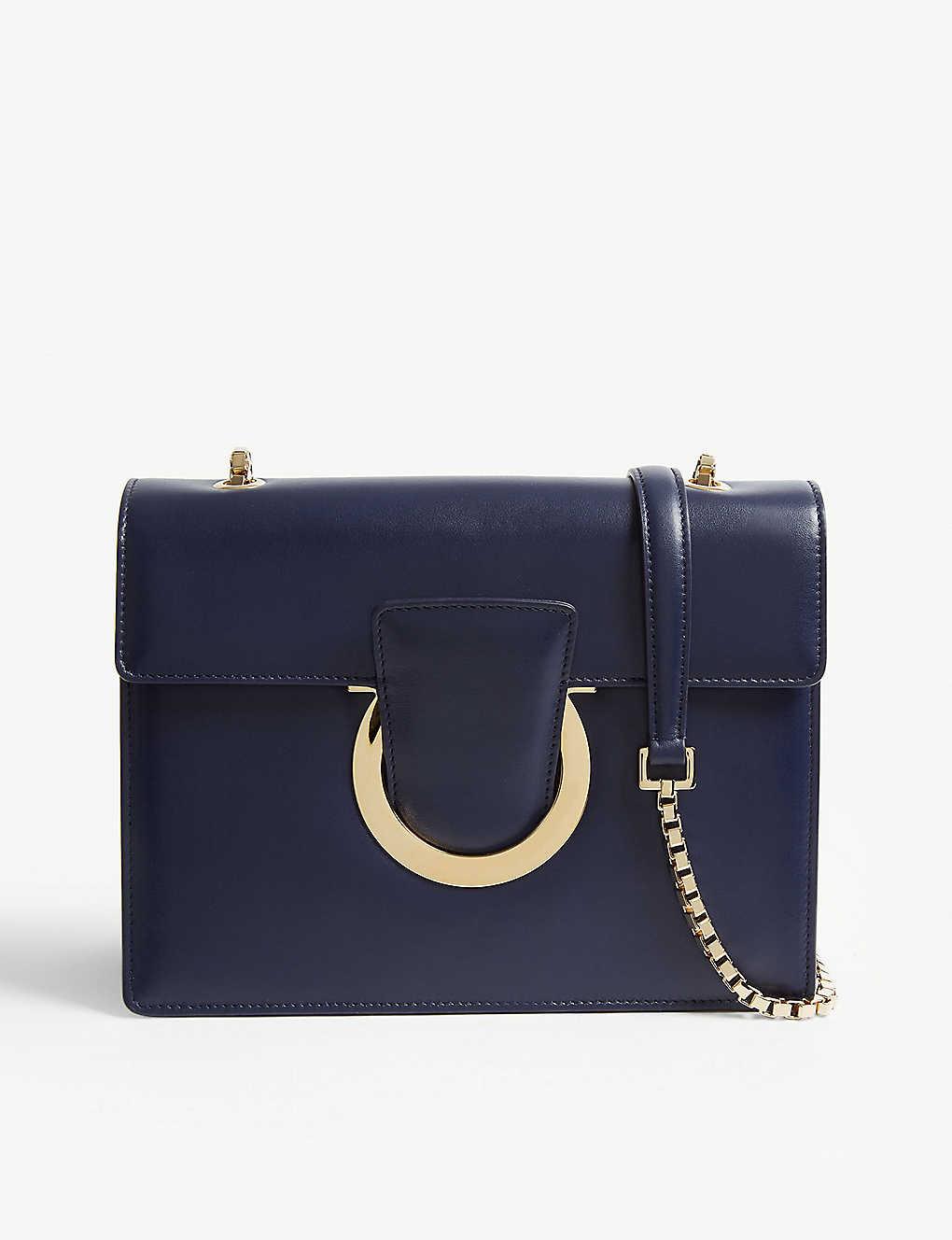 945028604 SALVATORE FERRAGAMO - Thalia leather cross-body bag | Selfridges.com