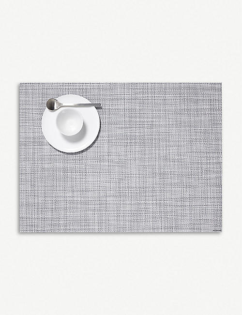 CHILEWICH: Basketweave mini vinyl placemat 36x48cm