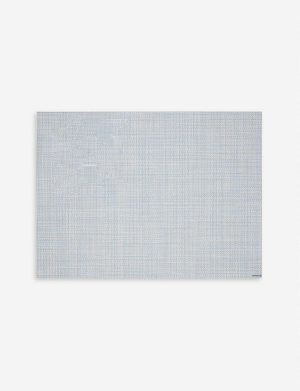 CHILEWICH: Mini basketweave rectangular placemat 36x48cm