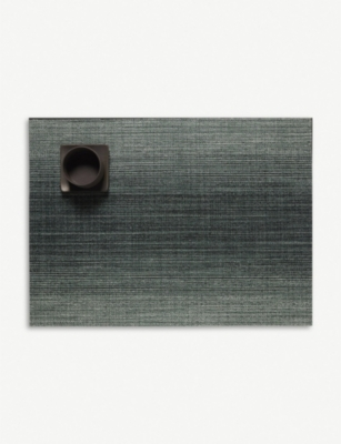 CHILEWICH Ombré rectangle vinyl placemat 36x48cm