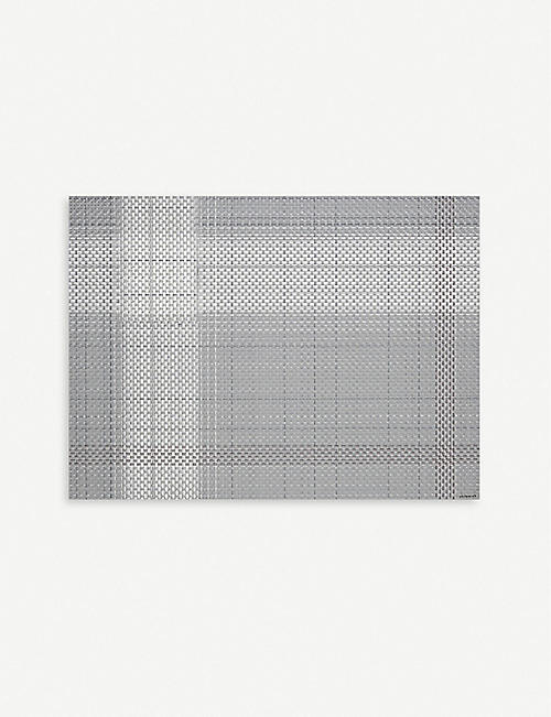 CHILEWICH Beam basketweave rectangular placemat 36x48cm