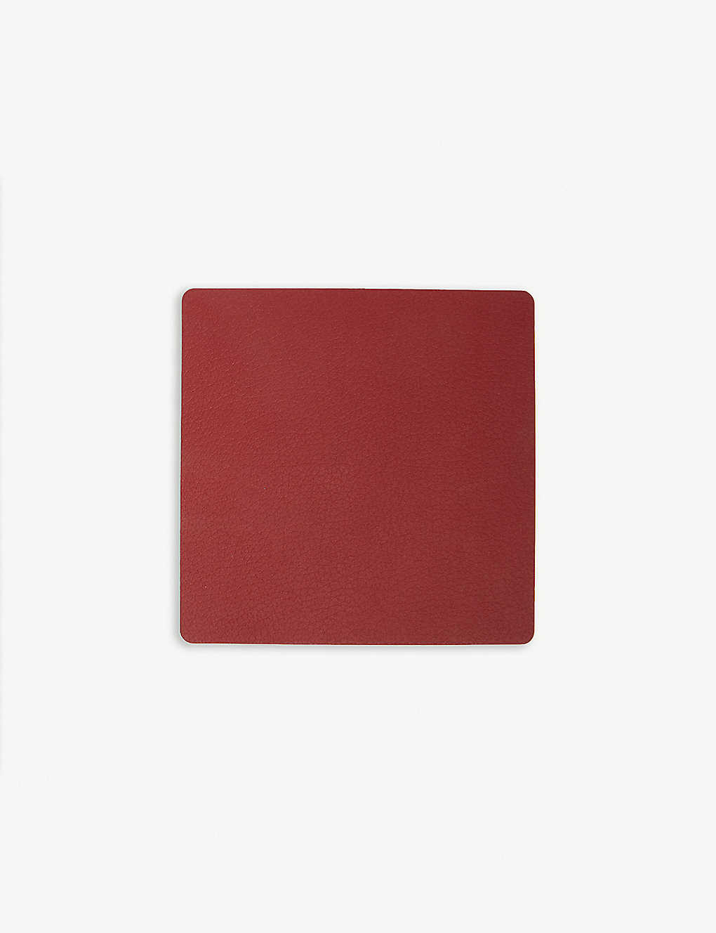 LIND DNA: Nupo square leather coaster
