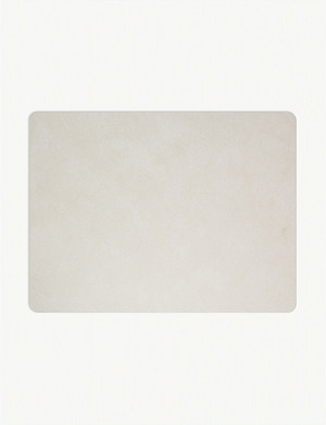 LIND DNA Nupo rectangle leather placemat