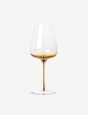 BROSTE Amber white wine glass 400ml