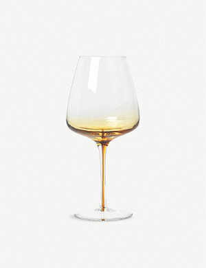 BROSTE Amber red wine glass 650ml