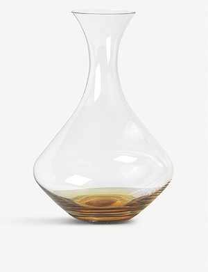 BROSTE Amber glass decanter 1.6L